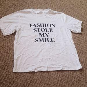 victoria beckham fashion stole my smile tshirt
